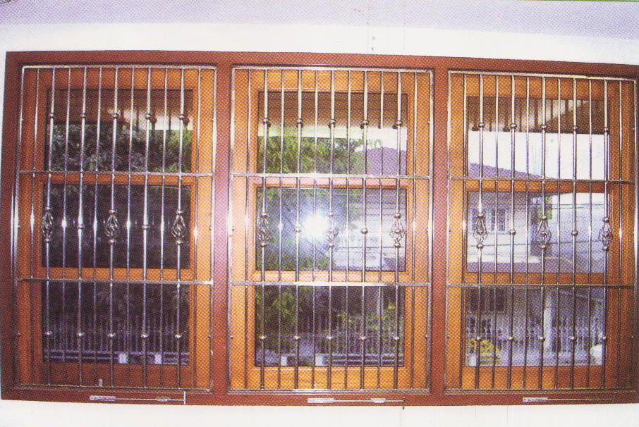 ราวบันได ช่องหน้าต่าง